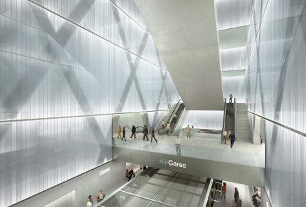 Station Gares - Quais