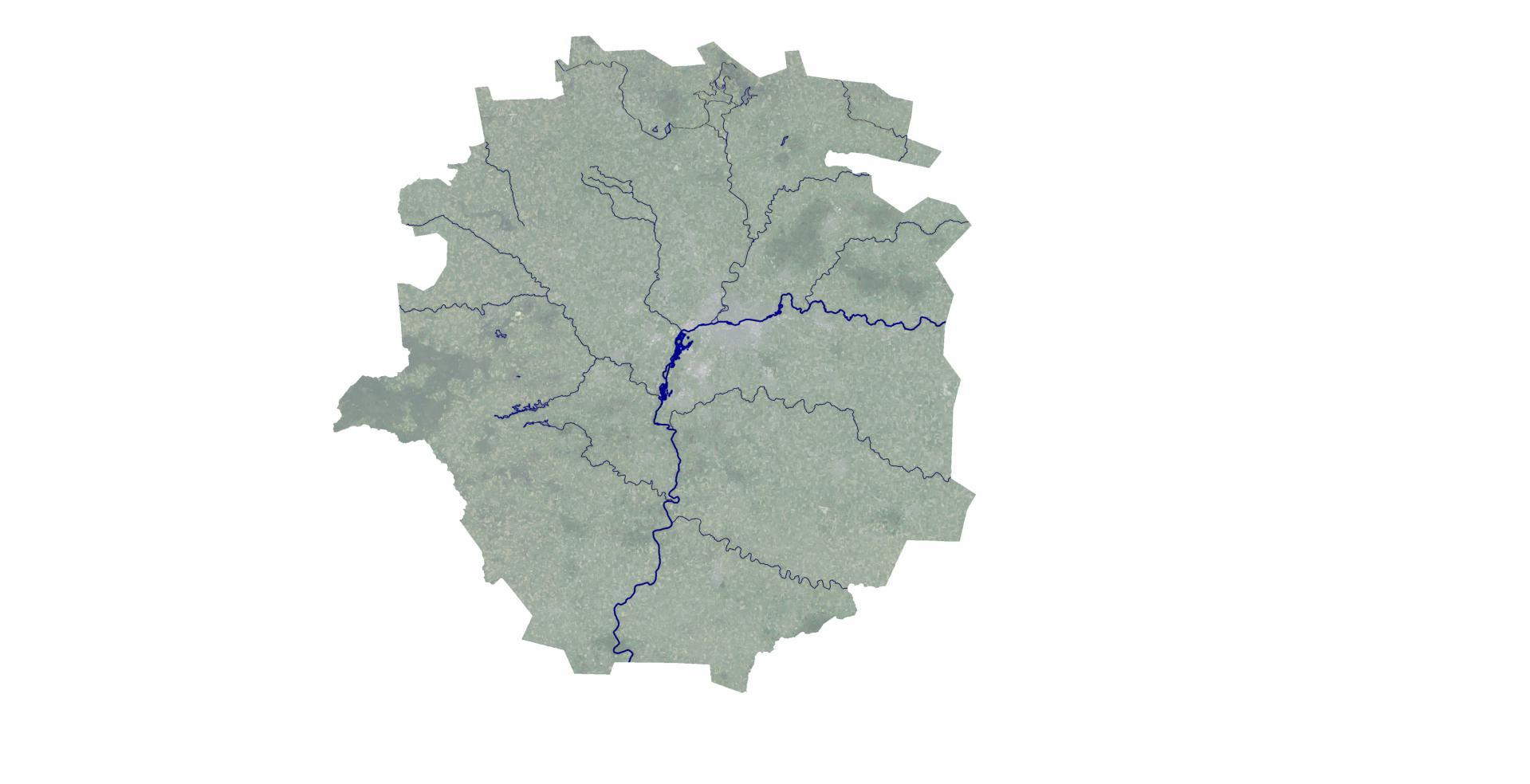 Aire Urbaine - RENNES - Trame bleue © URBA-Rennes