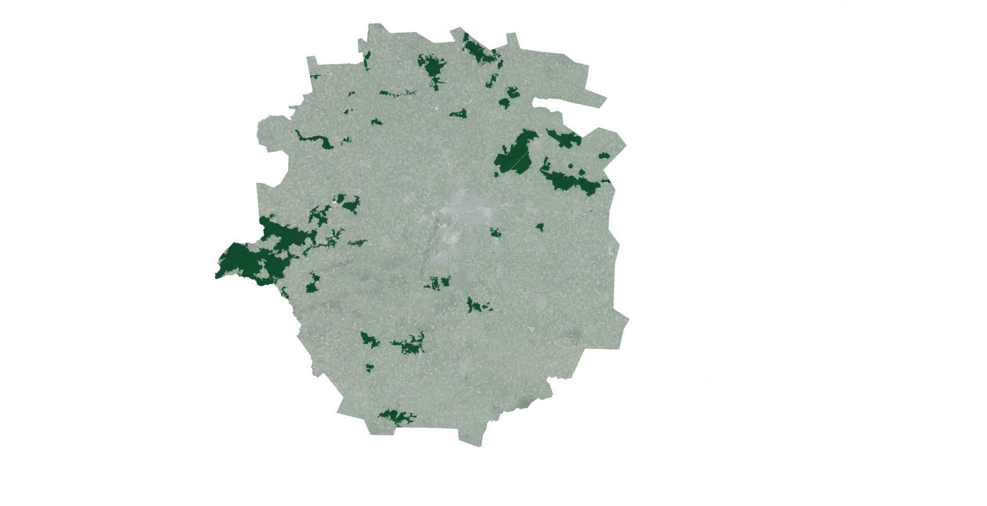 Aire Urbaine - RENNES - Trame verte © URBA-Rennes