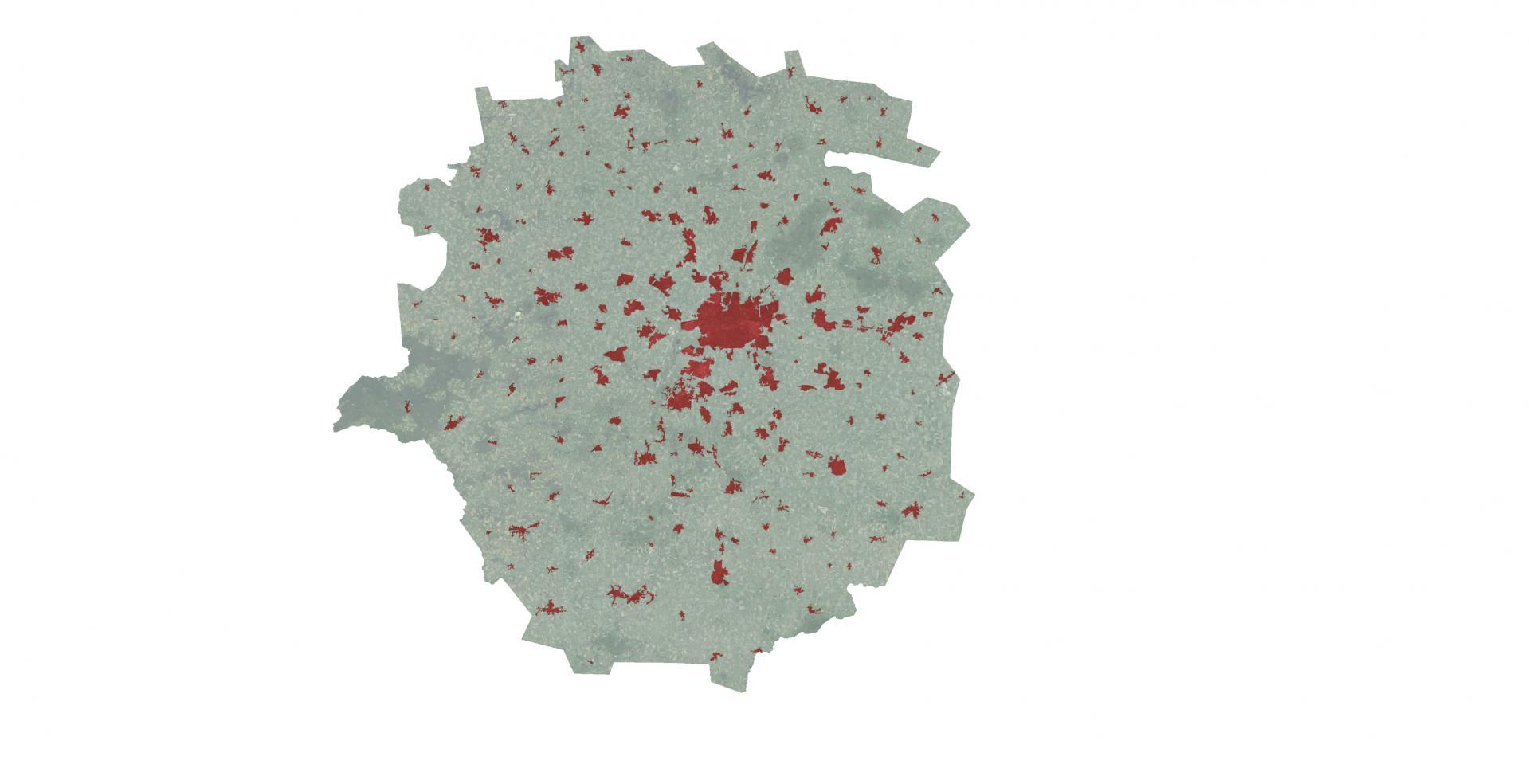 Aire Urbaine - RENNES - Urbanisation © URBA-Rennes