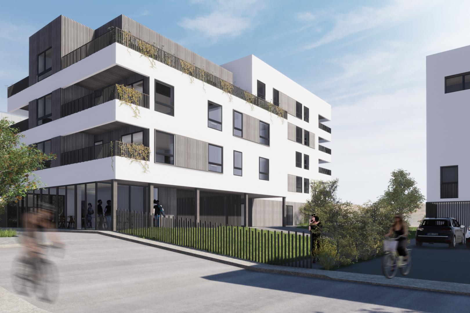B5d - Vue 2 © Atelier Pascal Gontier + Quinze Architecture