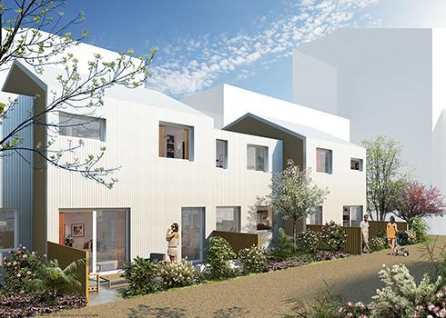 F3 - Vue des maisons © GPAA + Guinée*Potin