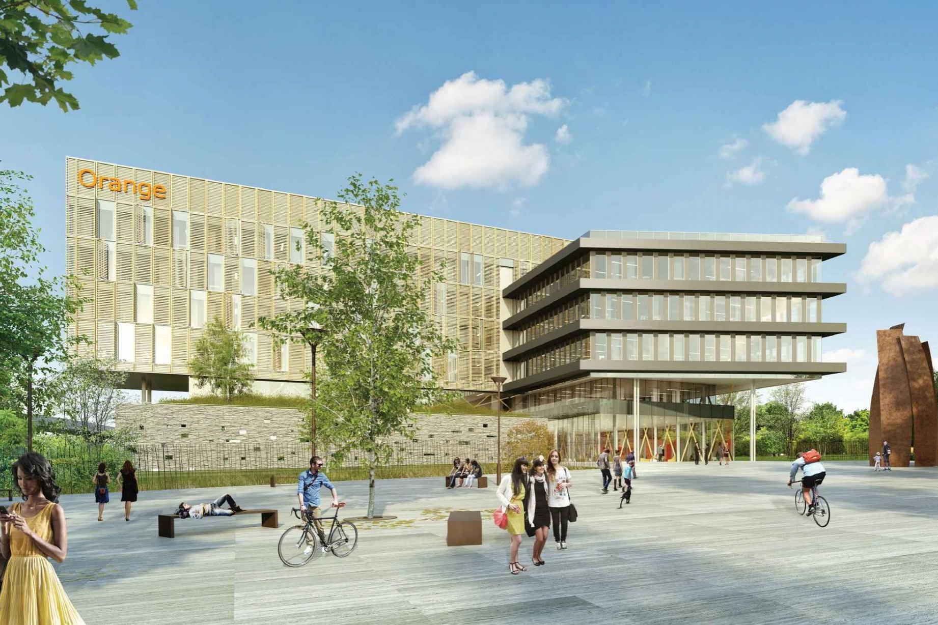 Centre de Recherche Orange Labs-IMT - Vue 1 © DTACC
