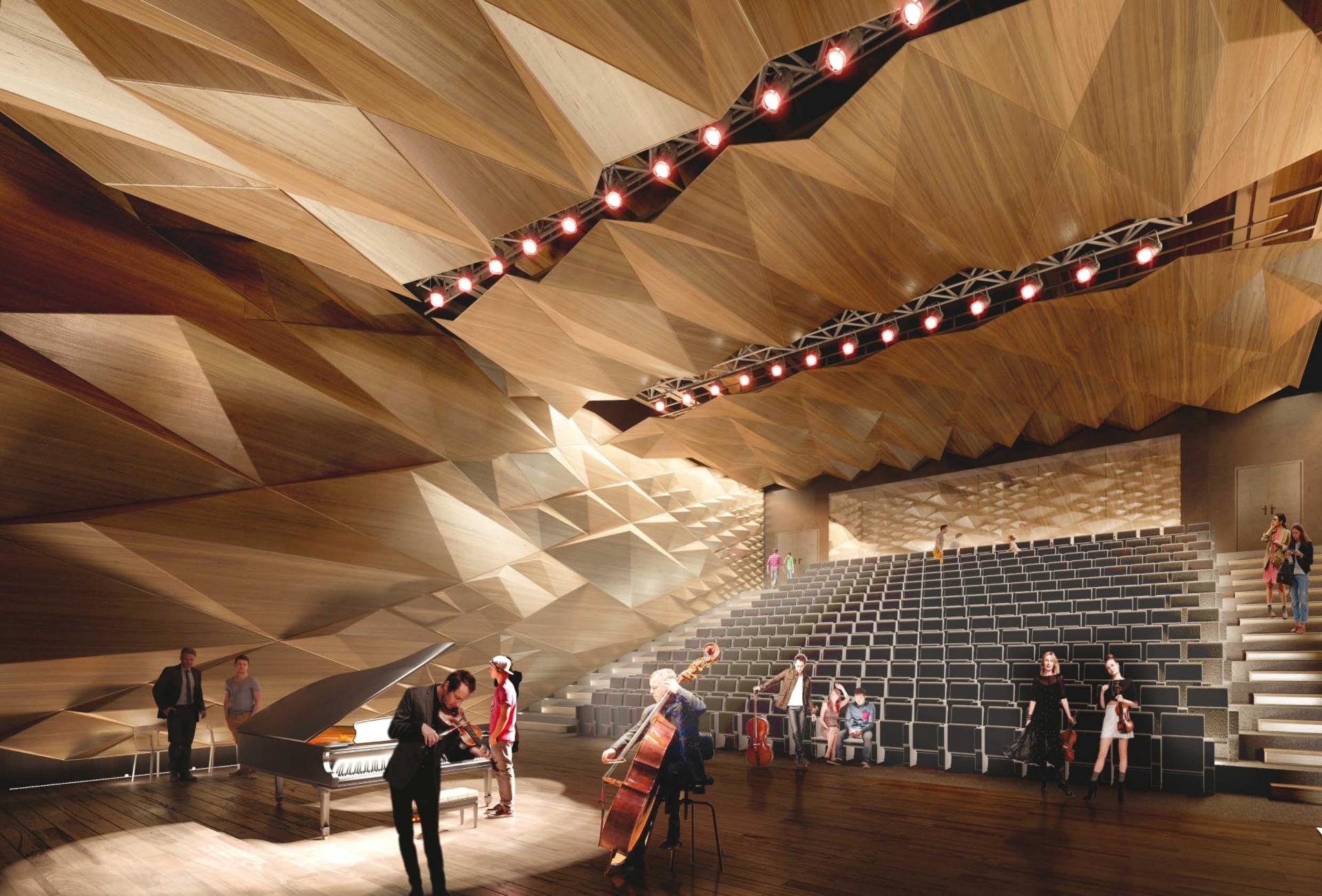 Conservatoire - Vue de la grande salle © Tetrarc
