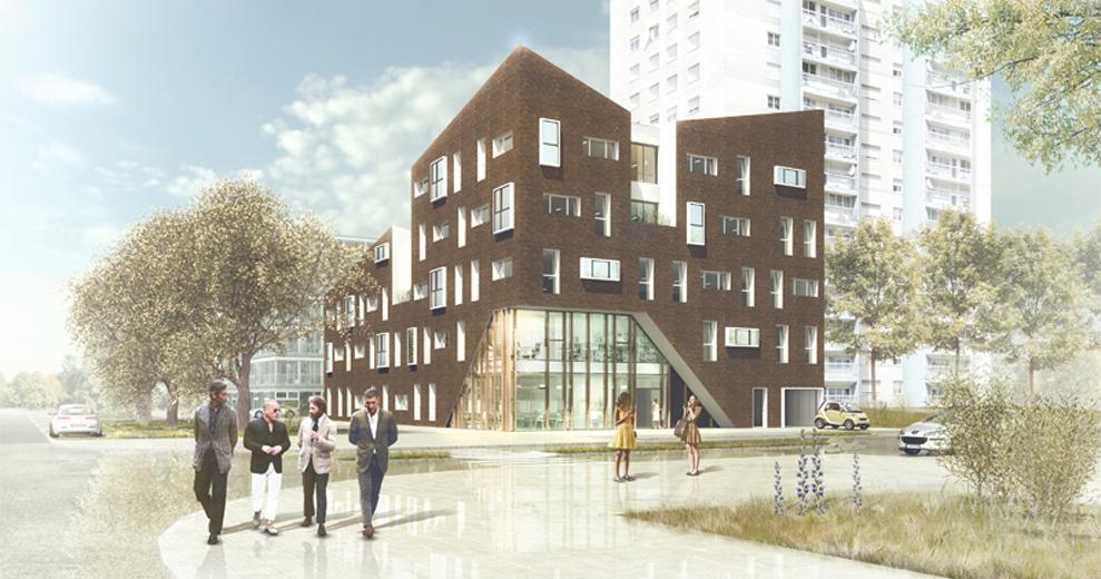 Îlot E11c - Sépia © Paumier Architectes