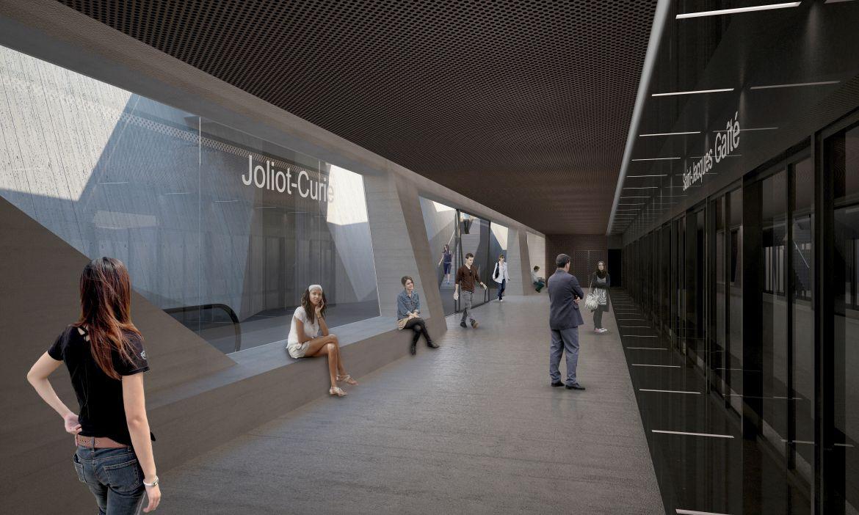 Joliot-Curie - Vue quai
