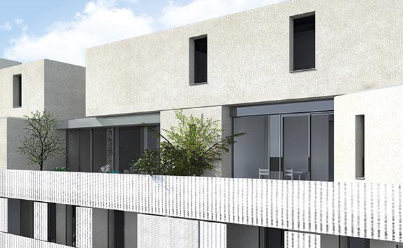 Koncept - Vue d'une terrasse © Croslard, Champenois