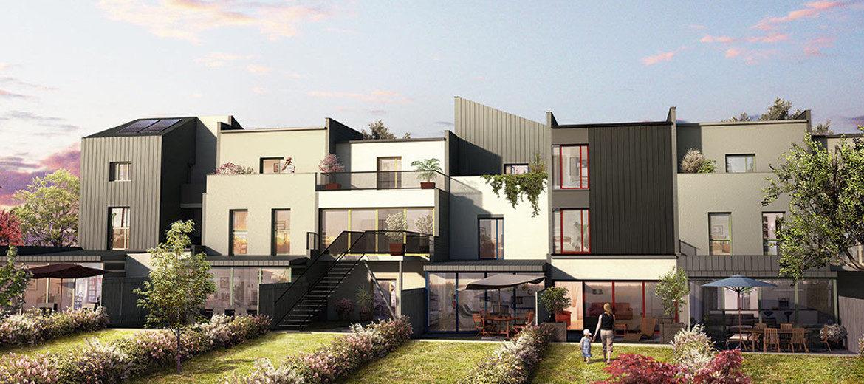 Koncept - Vue des maisons © Croslard, Champenois