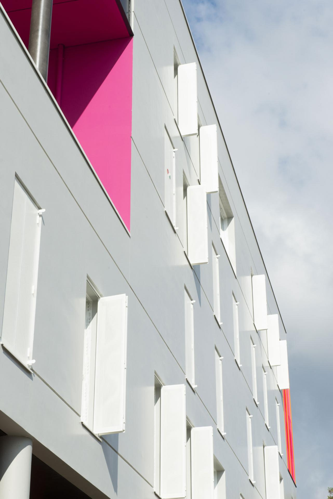Le Samara - Façade 2 © Claire Gallais Architectures