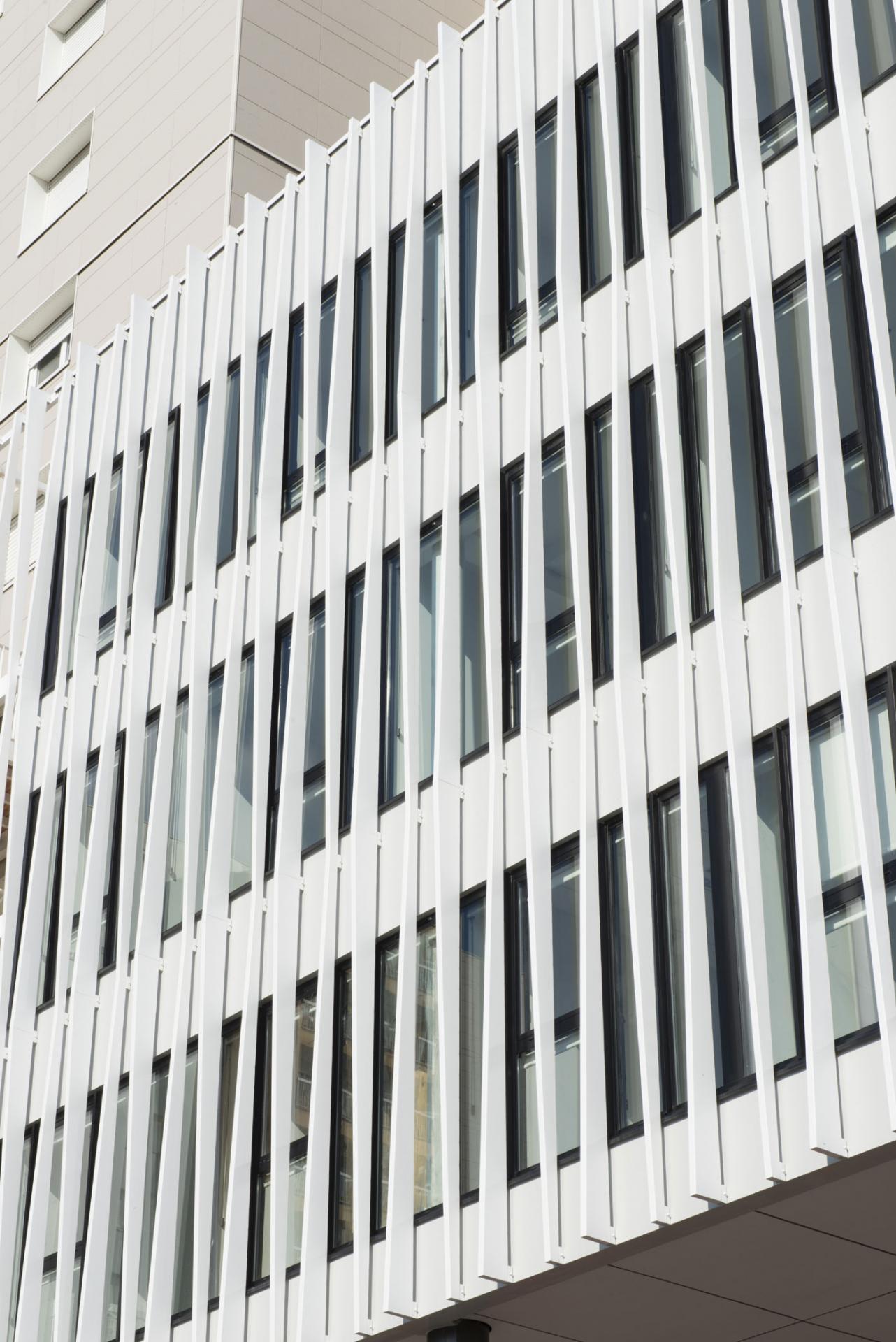 Le Samara - Façade 3 © Claire Gallais Architectures