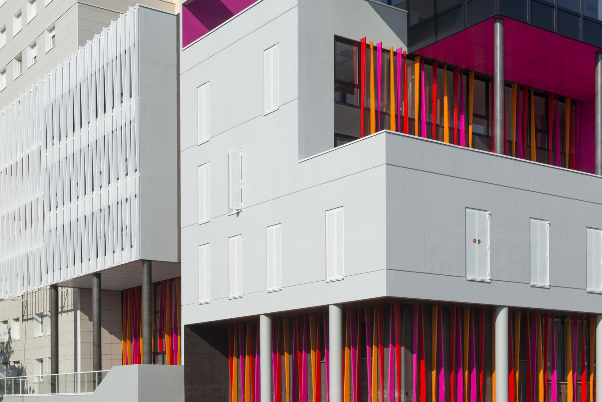 Le Samara - Façade 4 © Claire Gallais Architectures