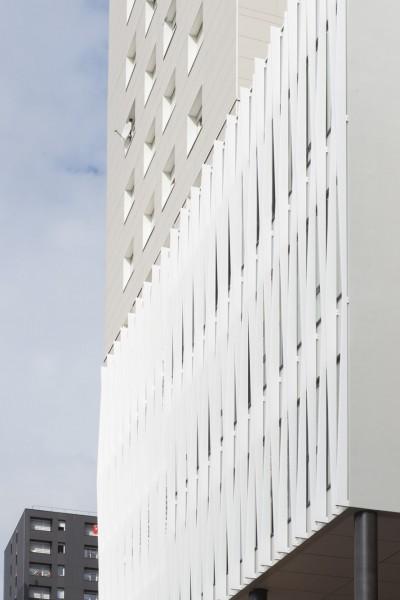 Le Samara - Façade © Claire Gallais Architectures
