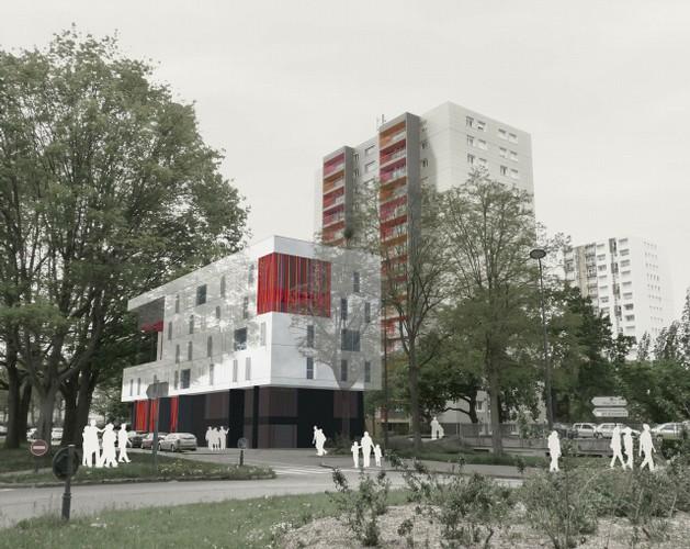 Le Samara - Perspective 1 © Claire Gallais Architectures