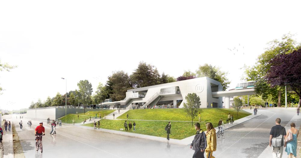 Beaulieu-Université - Vue extérieure