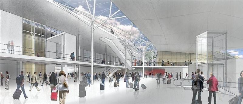 PEM - Vue hall d'échange - Niveau métro 2