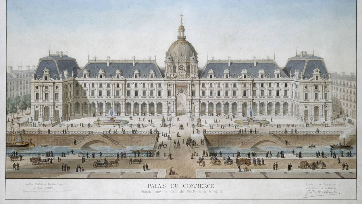 Palais du commerce © Jean-Baptiste Martenot et Emmanuel Le Ray