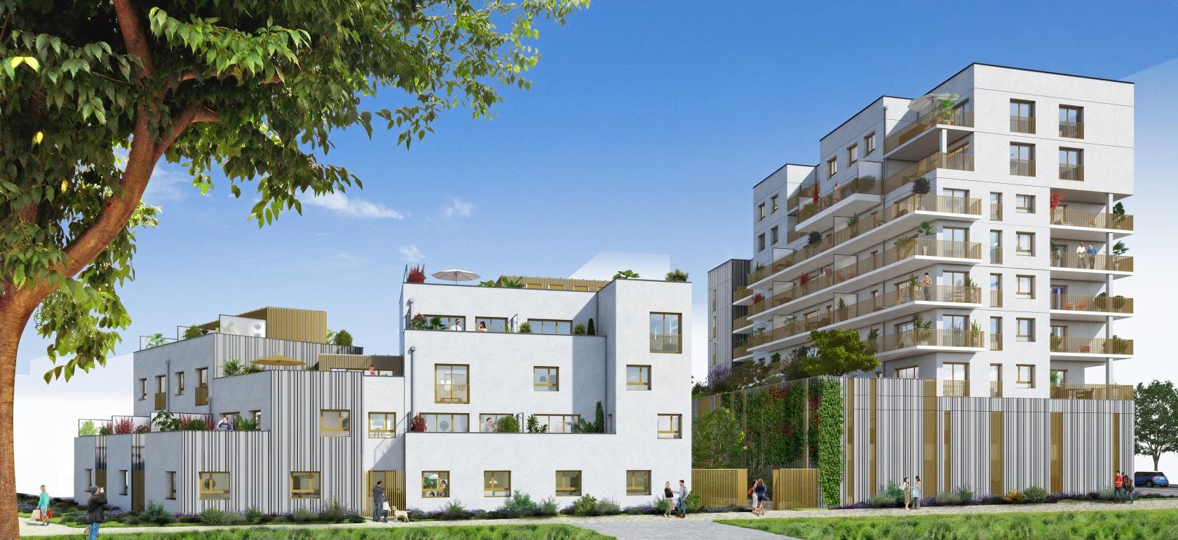 Riveo - Vue 1 © Paumier Architectes Associés