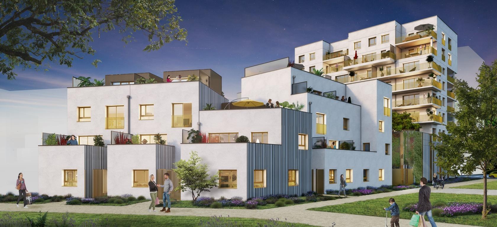 Riveo - Vue 2 © Paumier Architectes Associés