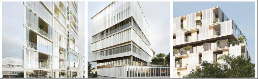 171 Rue de Vern - Façades © Brenac & Gonzalez - Line Up