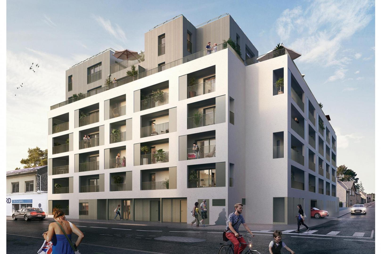 Vertygo - Vue du Boulevard de Metz © Bourdet Rivasseau Architectes