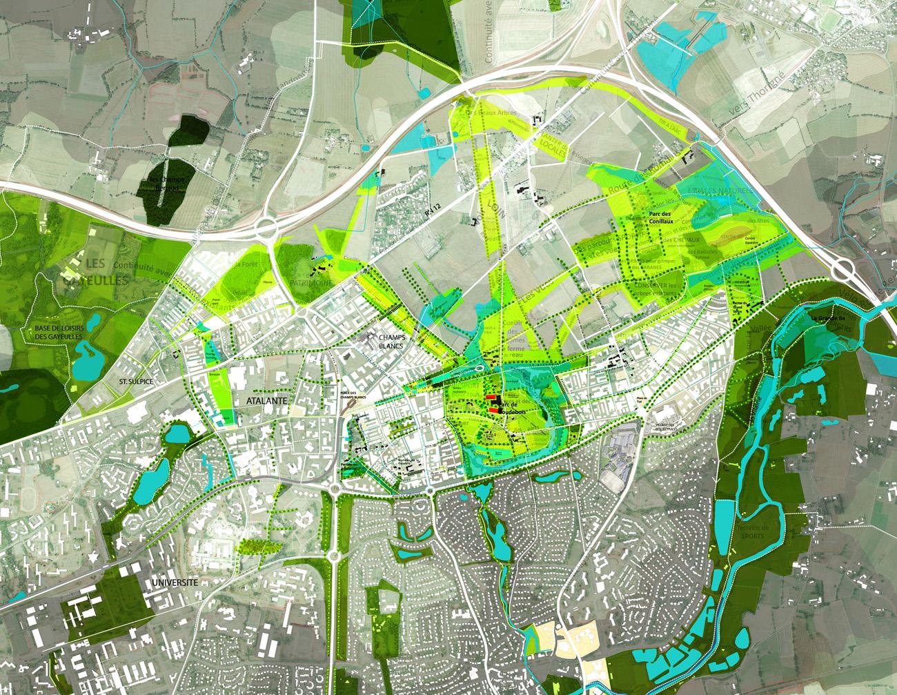 Viasilva - Les Parcs - Plan 1 © Devillers