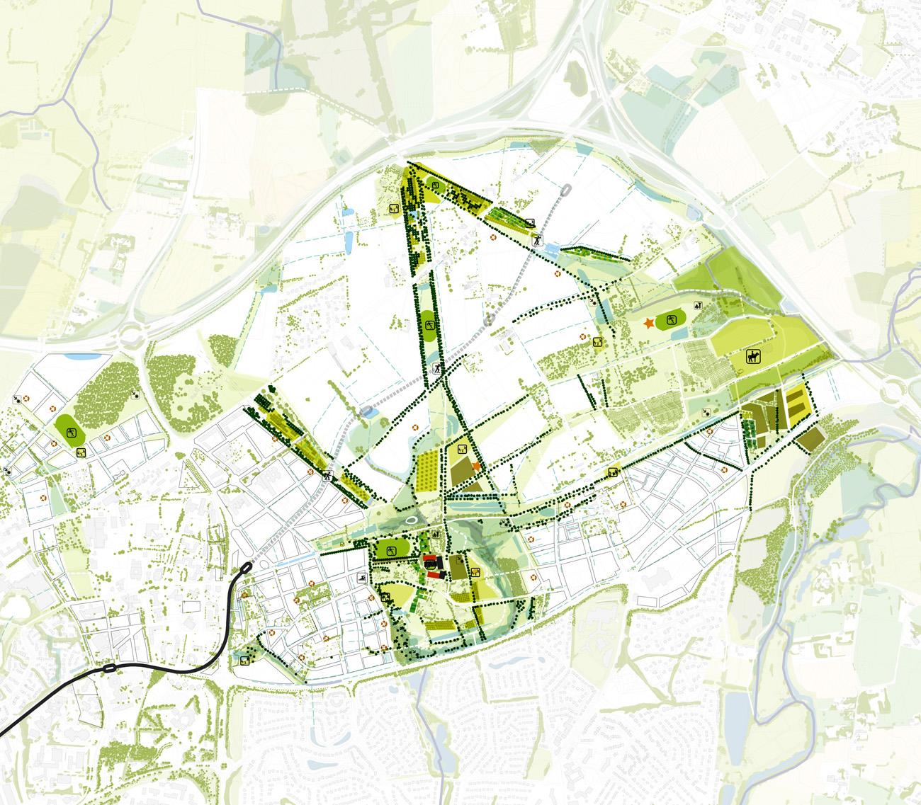 Viasilva - Les Parcs - Plan 2 © Devillers