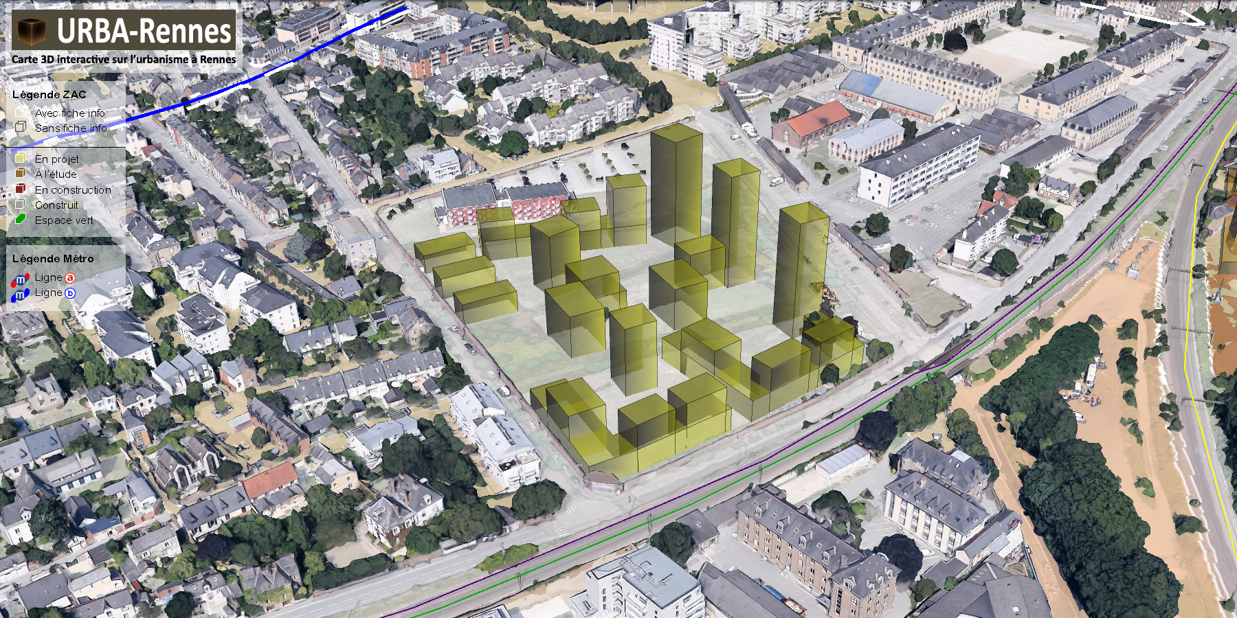 ZAC Guines © URBA-Rennes