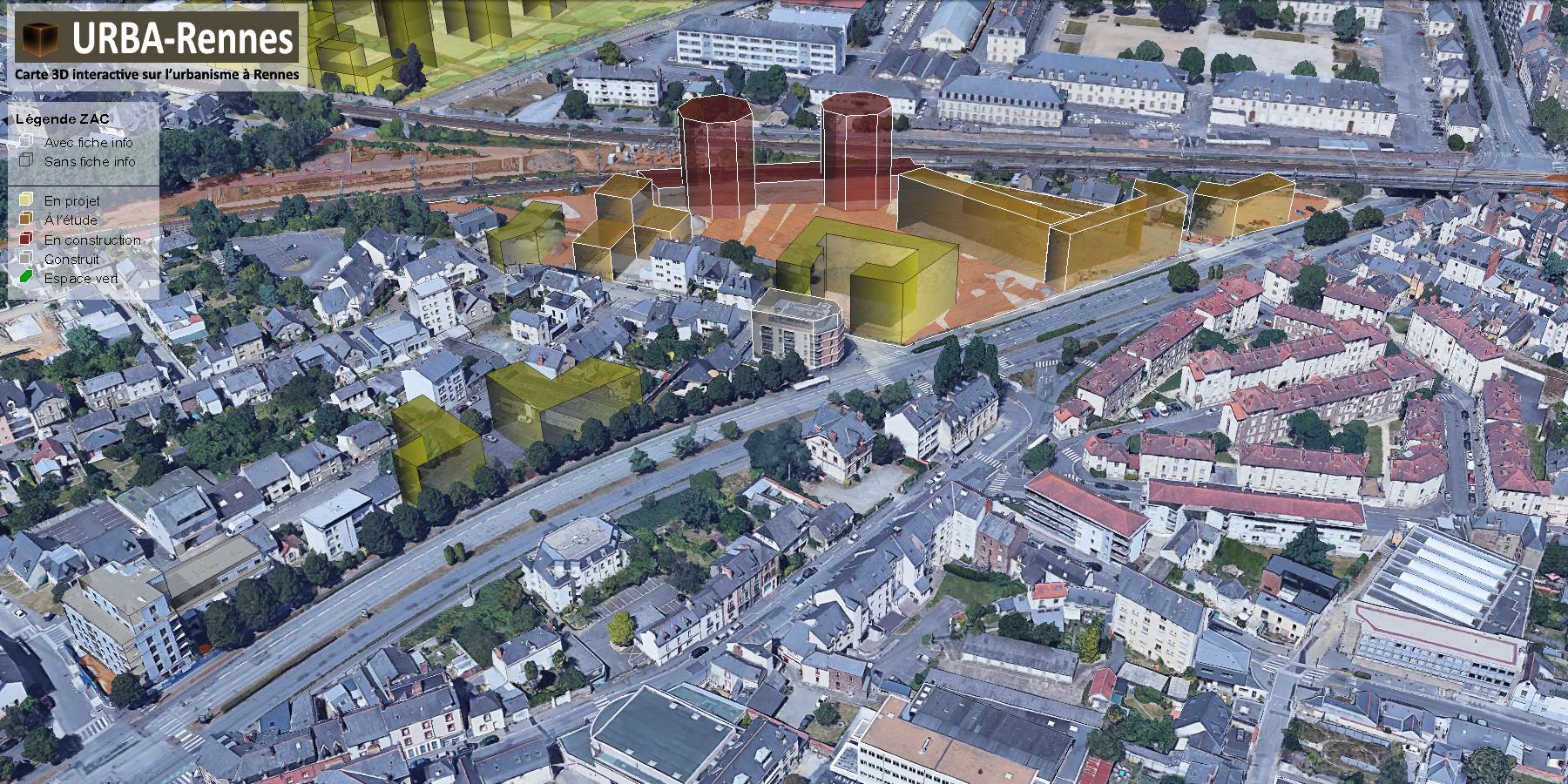 ZAC Madeleine © URBA-Rennes